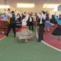Grupos folclóricos se apresentaram no evento