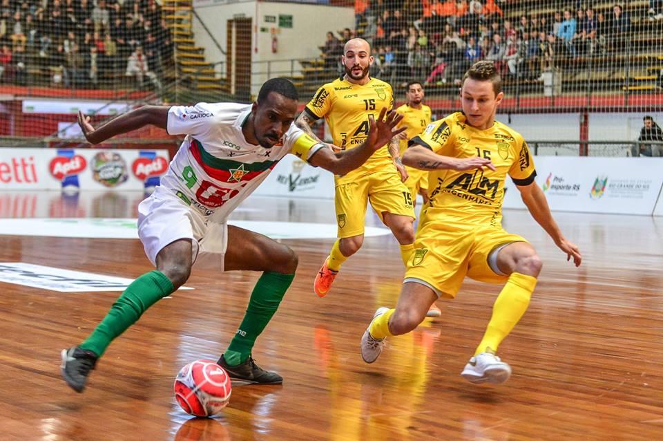 Taça Brasil de Futsal  Lusa perde para Assoeva  bab12fe468ce1